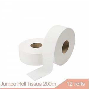 JRT Jumbo Roll Tissue 200m