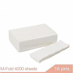 M-Fold Paper Hand Towel 4000 sheets