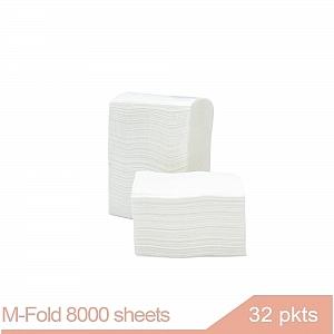 M Fold Paper Hand Towel 8000 sheets