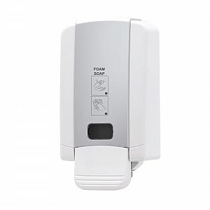 SD7165C Foam Soap Dispenser Angle with Sticker