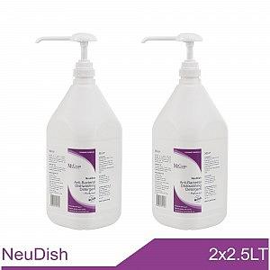 NeuDish Antibacterial Dishwashing Detergent 2x2.5LT banner