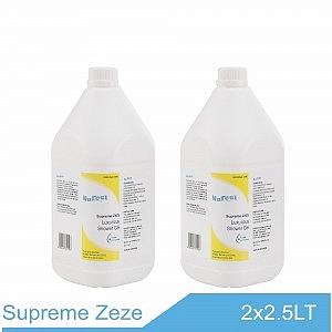 NuFeel Supreme zeze Luxurious Shower Gel 2 x 2.5 bottles